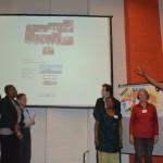 Deelnemers geven uitleg