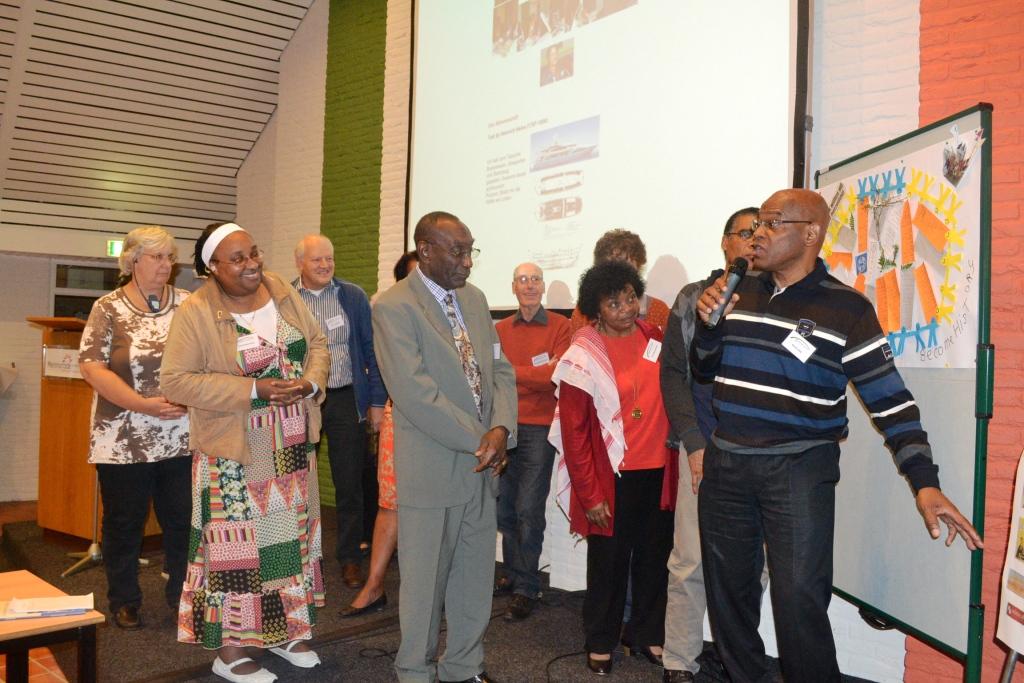 Deelnemers leggen hun perspectieven uit