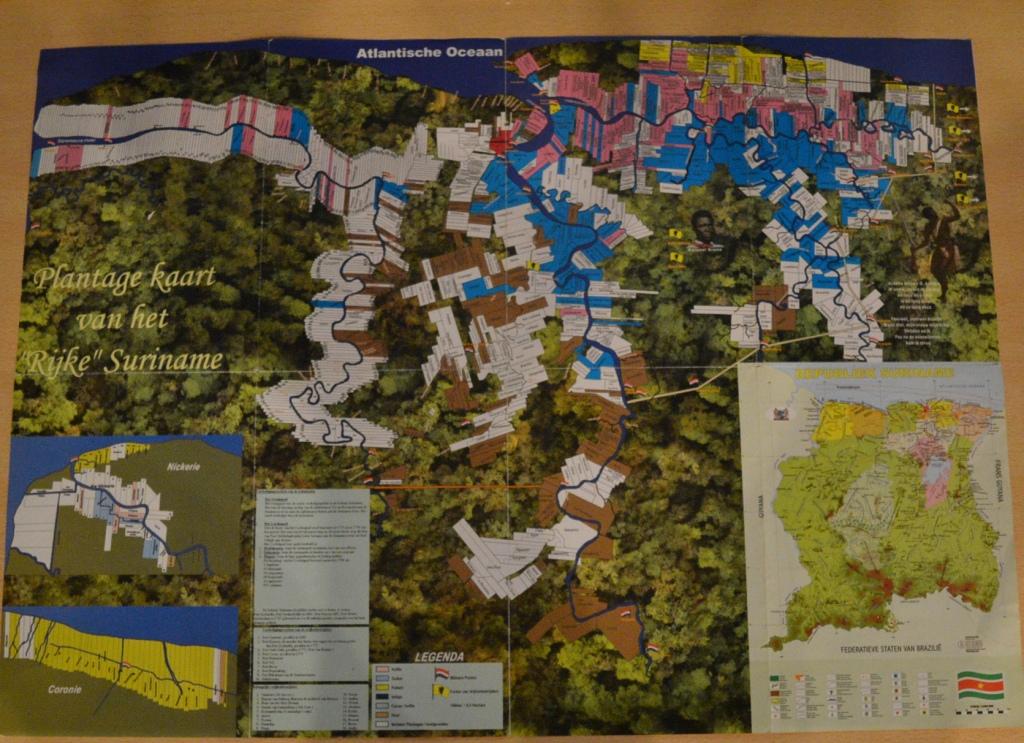 Plantage kaart