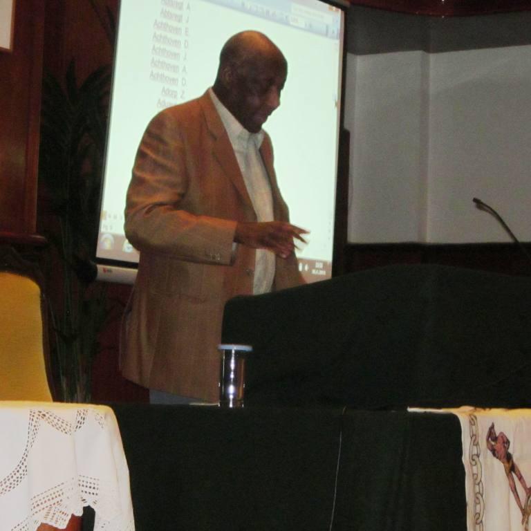 4e lezing gehouden door Prof Lamur