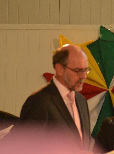 Gebed van br. van der Hout namens de Raad van kerken Nederland