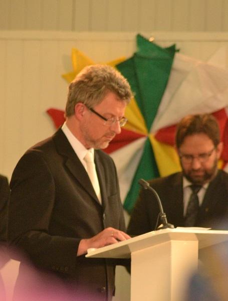 Gebed van br.Vollprecht namens de EBG